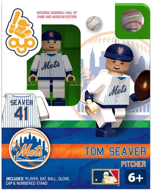 New York Mets MLB Hall of Fame Tom Seaver Minifigure