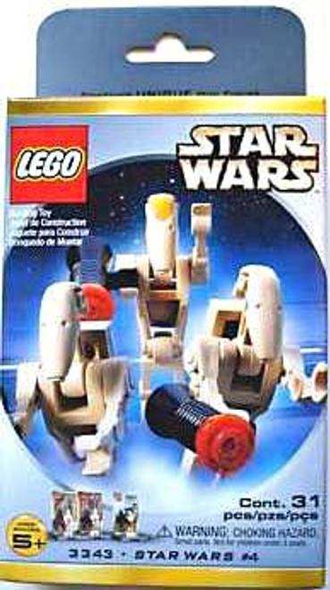 LEGO The Phantom Menace Star Wars #4 Minifigures Set #3343 [New]