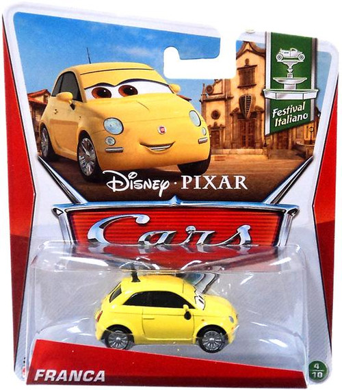 Disney Cars Series 3 Franca Diecast Car