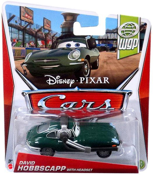 Disney Cars Series 3 David Hobbscapp with Headset Diecast Car