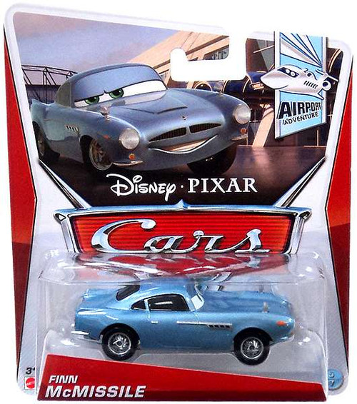 Disney Cars Series 3 Finn McMissile Diecast Car