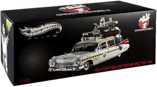 Ghostbusters 2 Hot Wheels Elite Ecto 1A Diecast Vehicle