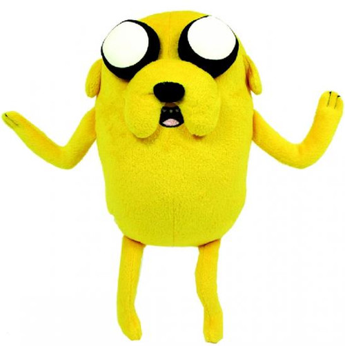 Adventure Time Jake 12-Inch Plush [Pullstring with Sound]