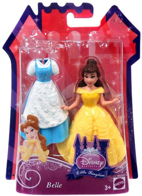 Disney Princess Beauty and the Beast Little Kingdom Belle Figure [Glitter Stretch Fashion]