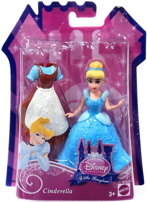 Disney Princess Little Kingdom Cinderella Figure [Glitter Stretch Fashion]