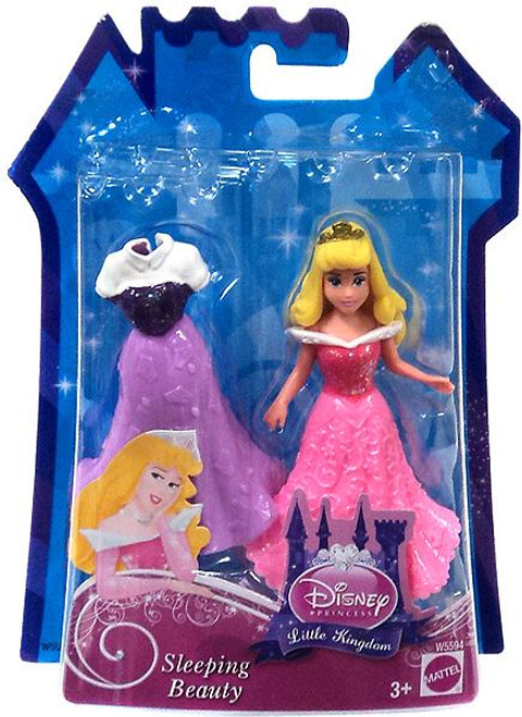 Disney Princess Little Kingdom Sleeping Beauty Figure [Glitter Stretch Fashion]