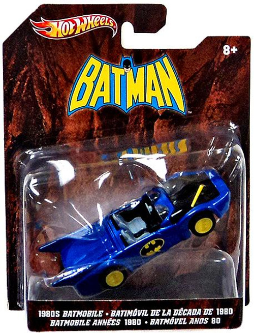 Batman Hot Wheels Batmobile Diecast Vehicle [1980's]