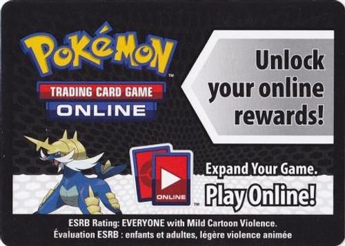 Online Code Card Promo Code Card for Pokemon TCG Online [Samurott Tin]