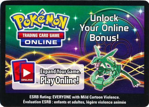 Online Code Card Promo Code Card for Pokemon TCG Online [Rayquaza Tin]