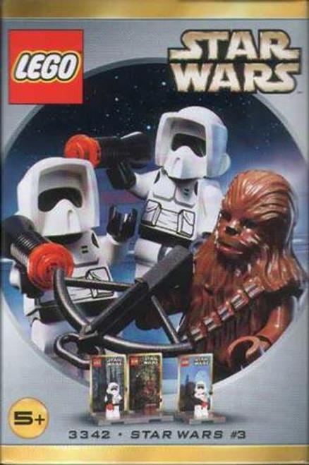 LEGO Return of the Jedi Star Wars #3 Minifigures Set #3342 [New]