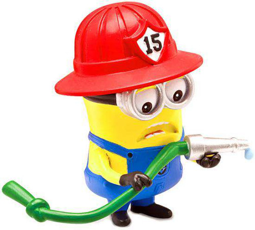 despicable me 2 minion fireman 2 action figure think way