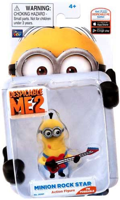 Despicable Me 2 Minion Rock Star Action Figure