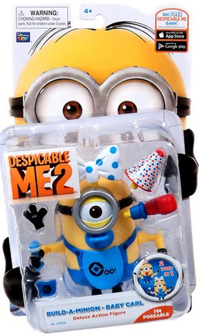 Despicable Me 2 Build-A-Minion Baby Carl Action Figure