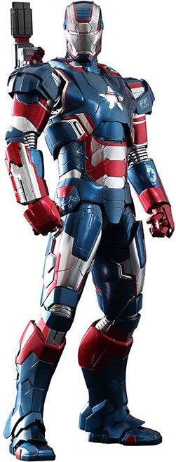 Iron Man 3 Movie Masterpiece Iron Patriot 1/6 Collectible Figure