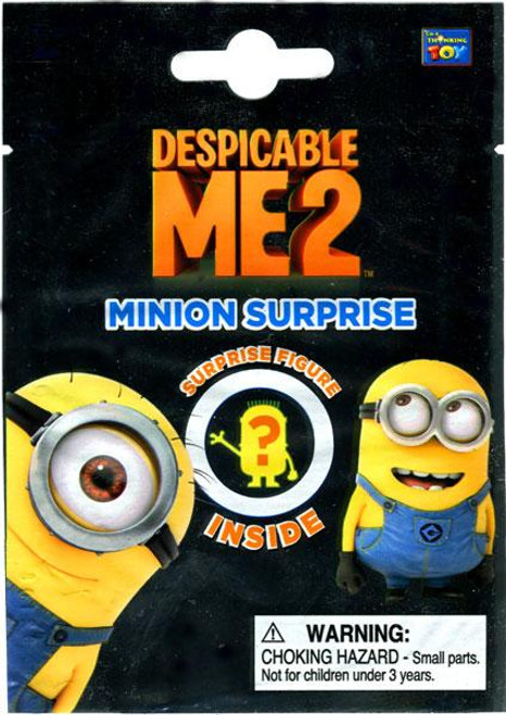 Despicable Me 2 Minion Surprise Mini PVC Figure Mystery Pack
