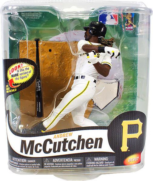 McFarlane Toys MLB Pittsburgh Pirates Sports Picks Series 31 Andrew McCutchen Action Figure [White Jersey]