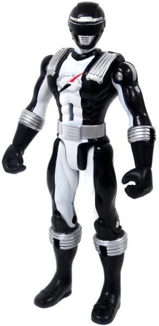 Power Rangers Operation Overdrive Battlized Black Ranger Action Figure [Loose]