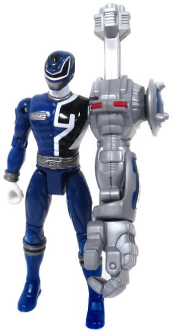 Power Rangers SPD Cyber Arm Blue Ranger Action Figure [Loose]