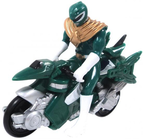 Power Rangers Mini Green Dino Cycle Action Figure [Loose]