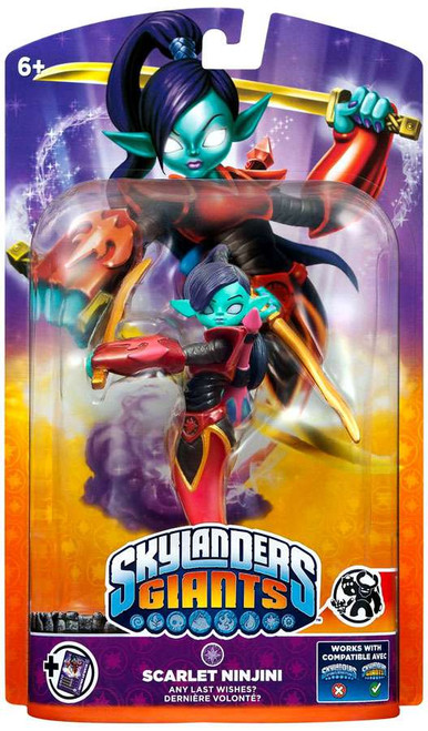 Skylanders Giants Scarlet Ninjini Figure Pack