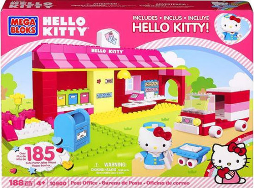 Mega Bloks Hello Kitty Post Office Set #10900
