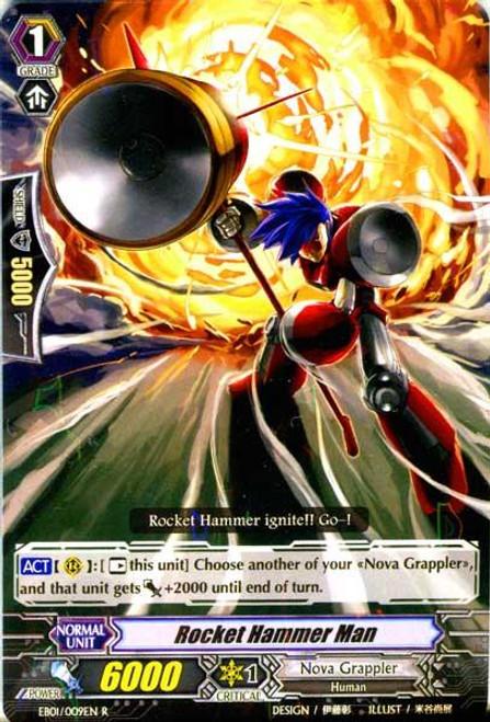 Cardfight Vanguard Comic Style Vol. 1 RR Rare Rocket Hammer man EB01-009