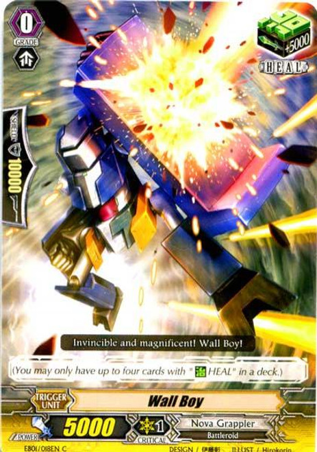 Cardfight Vanguard Comic Style Vol. 1 Common Wall Boy EB01-018