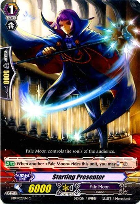 Cardfight Vanguard Comic Style Vol. 1 Common Starting Presenter EB01-023