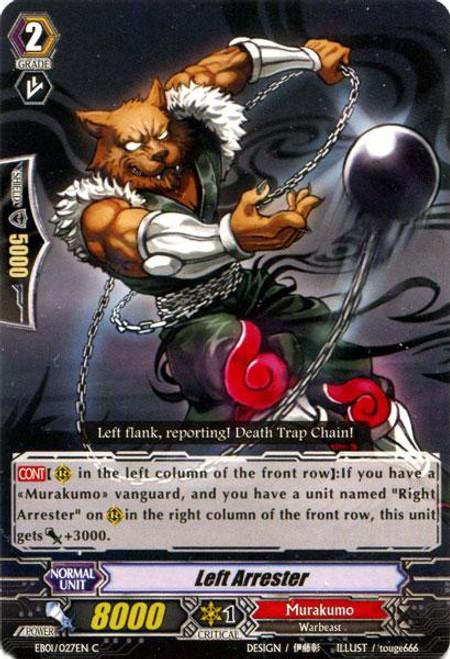 Cardfight Vanguard Comic Style Vol. 1 Common Left Arrester EB01-027