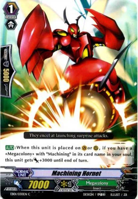 Cardfight Vanguard Comic Style Vol. 1 Common Machining Hornet EB01-030EN