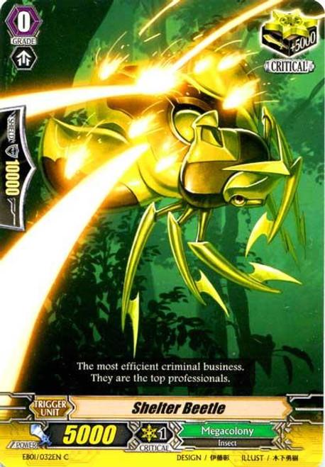 Cardfight Vanguard Comic Style Vol. 1 Common Shelter Beetle EB01-032
