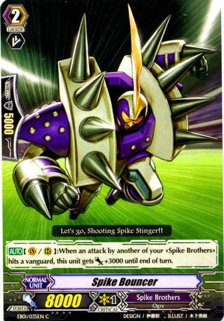 Cardfight Vanguard Comic Style Vol. 1 Common Spike Bouncer EB01-035