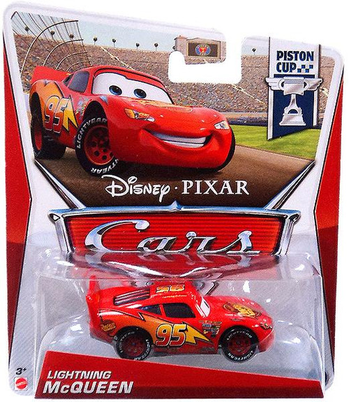 Disney Cars Series 3 Lightning McQueen Diecast Car