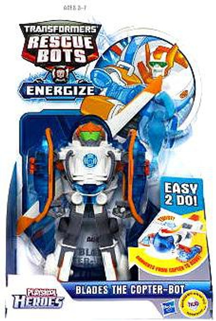 Transformers Rescue Bots Playskool Heroes Blades the Copter-Bot Action Figure 2-Pack