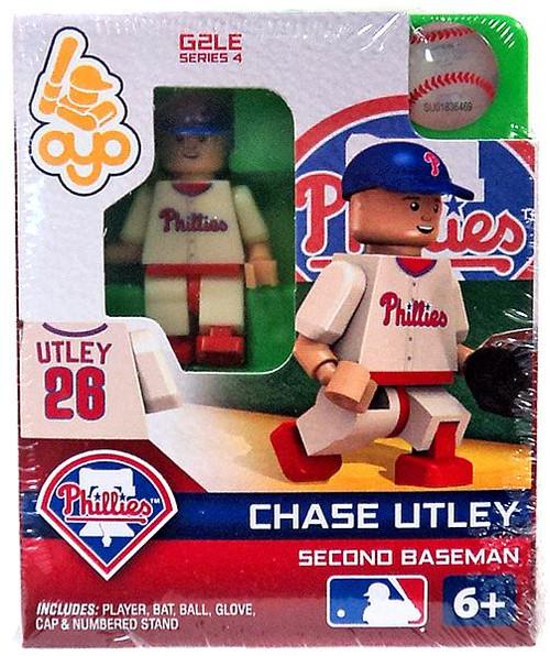 Philadelphia Phillies MLB Generation 2 Series 4 Chase Utley Minifigure