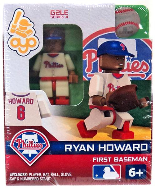 Philadelphia Phillies MLB Generation 2 Series 4 Ryan Howard Minifigure