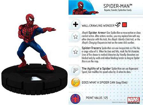 Marvel HeroClix Amazing Spider-Man Uncommon Spider-Man #024