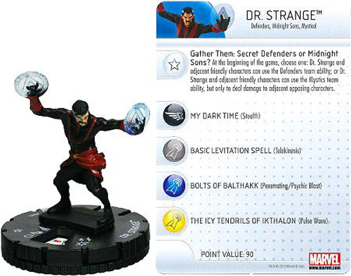 Marvel HeroClix Amazing Spider-Man Common Dr. Strange #005