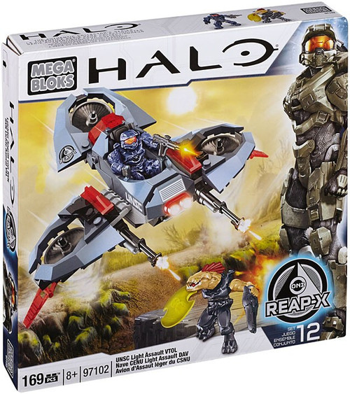 Mega Bloks Halo UNSC Light Assault VTOL Set #97102