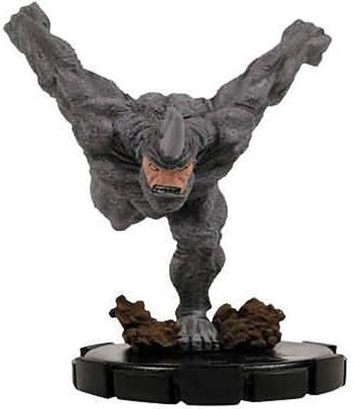 Marvel HeroClix Sinister Uncommon Rhino #069
