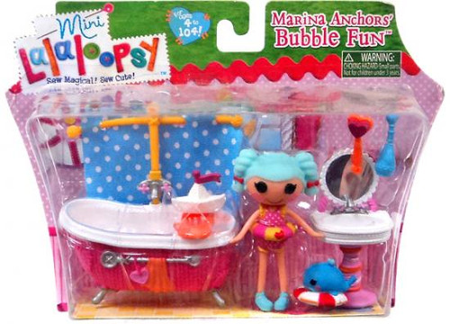 Mini Lalaloopsy Marina Anchors' Bubble Fun Mini Playset