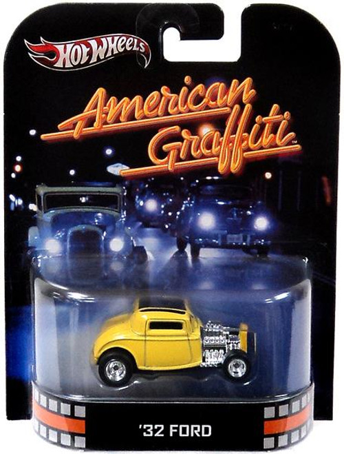 American Graffiti Hot Wheels Retro '32 Ford Diecast Vehicle