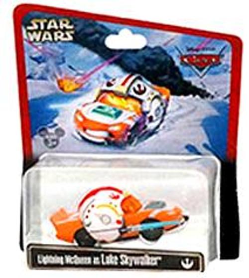 Disney Cars Star Wars Lightning McQueen as Luke Skywalker Exclusive Diecast Car