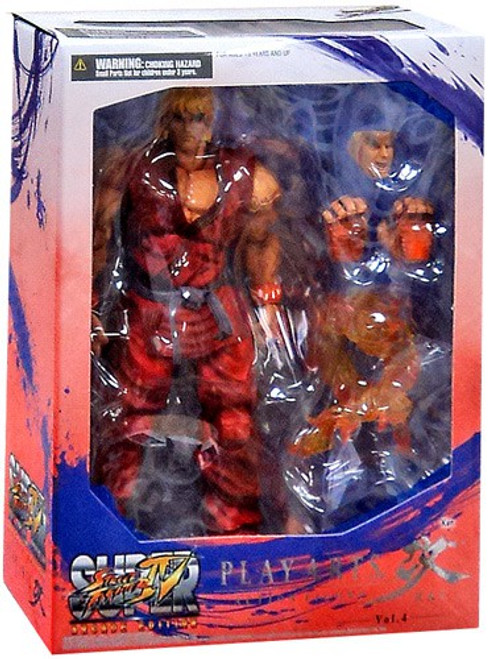 Super Street Fighter IV Play Arts Kai Ken Action Figure
