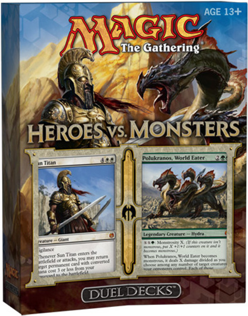MtG Duel Decks: Heroes vs. Monsters Heroes vs. Monsters Duel Decks [Sealed]