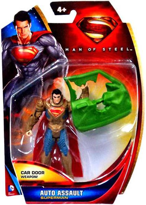 Man of Steel Superman Action Figure [Auto Assault]
