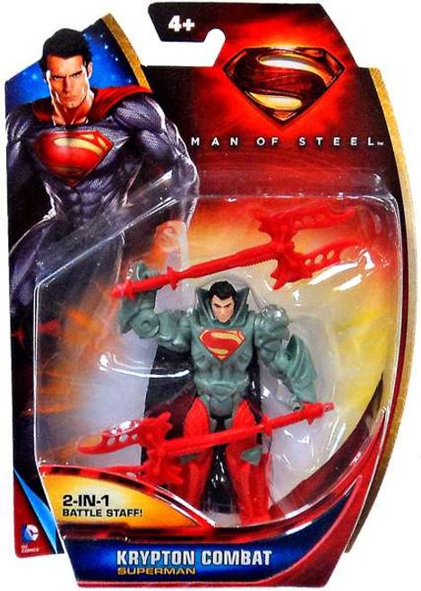 Man of Steel Superman Action Figure [Krypton Combat]