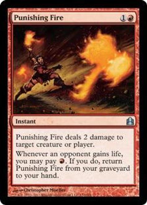 MtG Duel Decks: Knights vs. Dragons Uncommon Punishing Fire #66