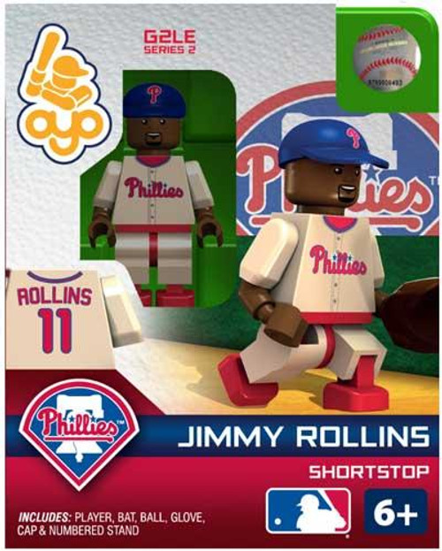 Philadelphia Phillies MLB Generation 2 Series 2 Jimmy Rollins Minifigure