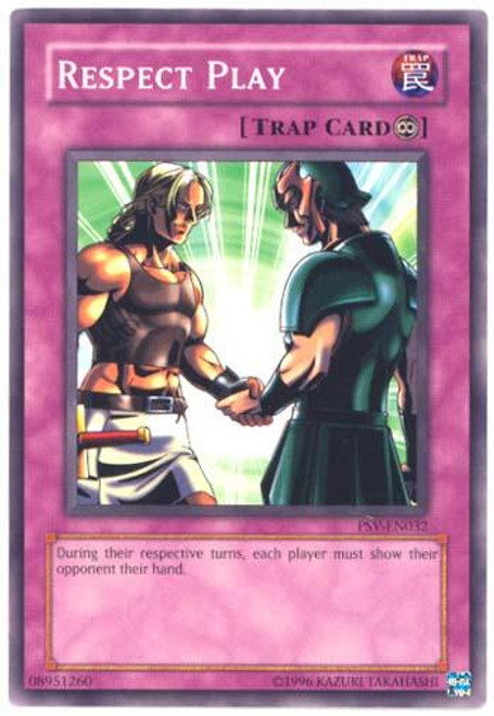 YuGiOh Pharaoh's Servant Common Respect Play PSV-032